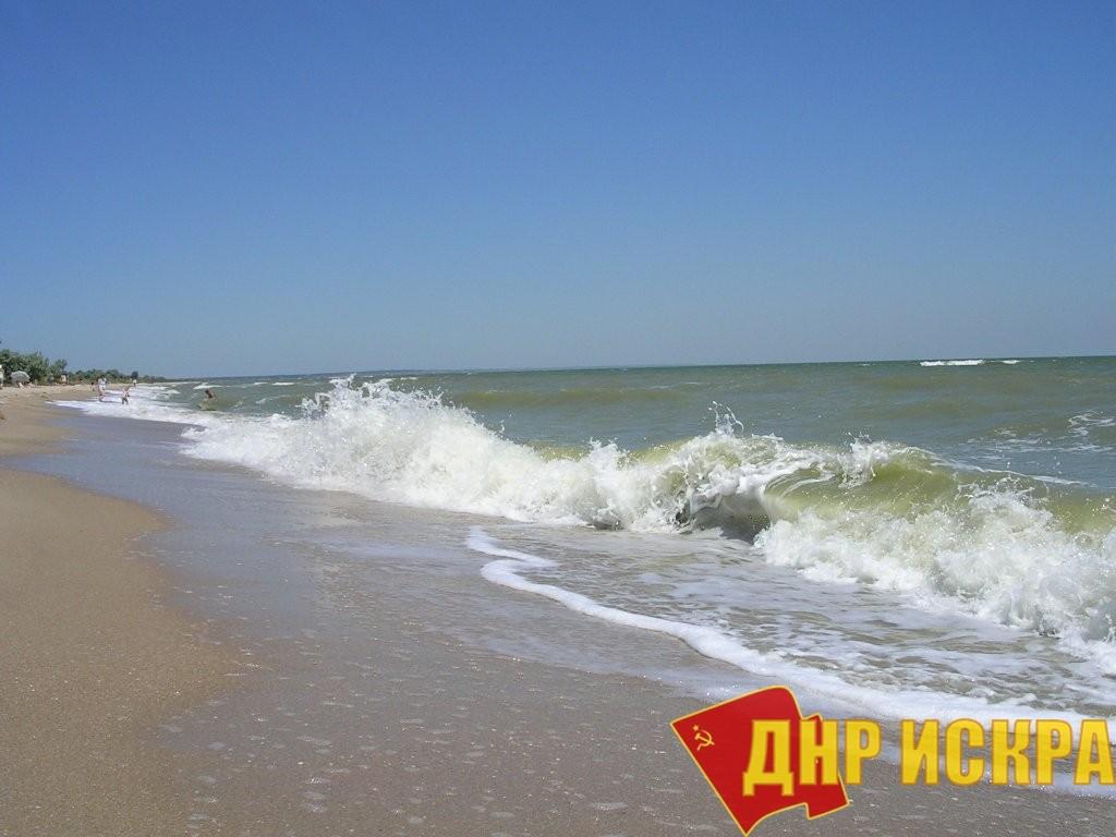 Азовское море.