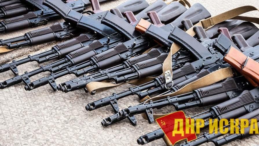 С территории Донбасса, временной подконтрольной Киеву, было вывезено более 10 тыс. единиц оружия