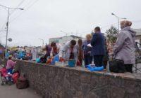 Незаконный рынок в Макеевке.