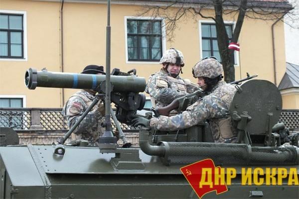 Войска НАТО.
