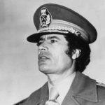 Муаммар КАДДАФИ, лидер Социалистической Народной Ливийской Арабской Джамахирии. 2011 г.