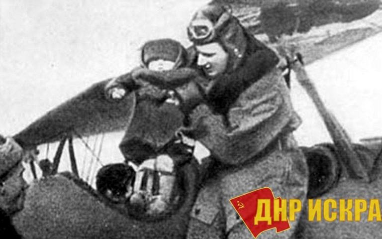 Летчик Александр Мамкин.