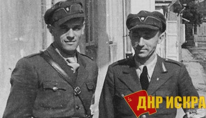 Украинские полицаи.