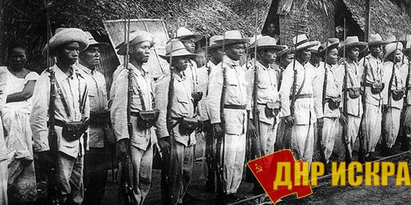 Филиппинские солдаты