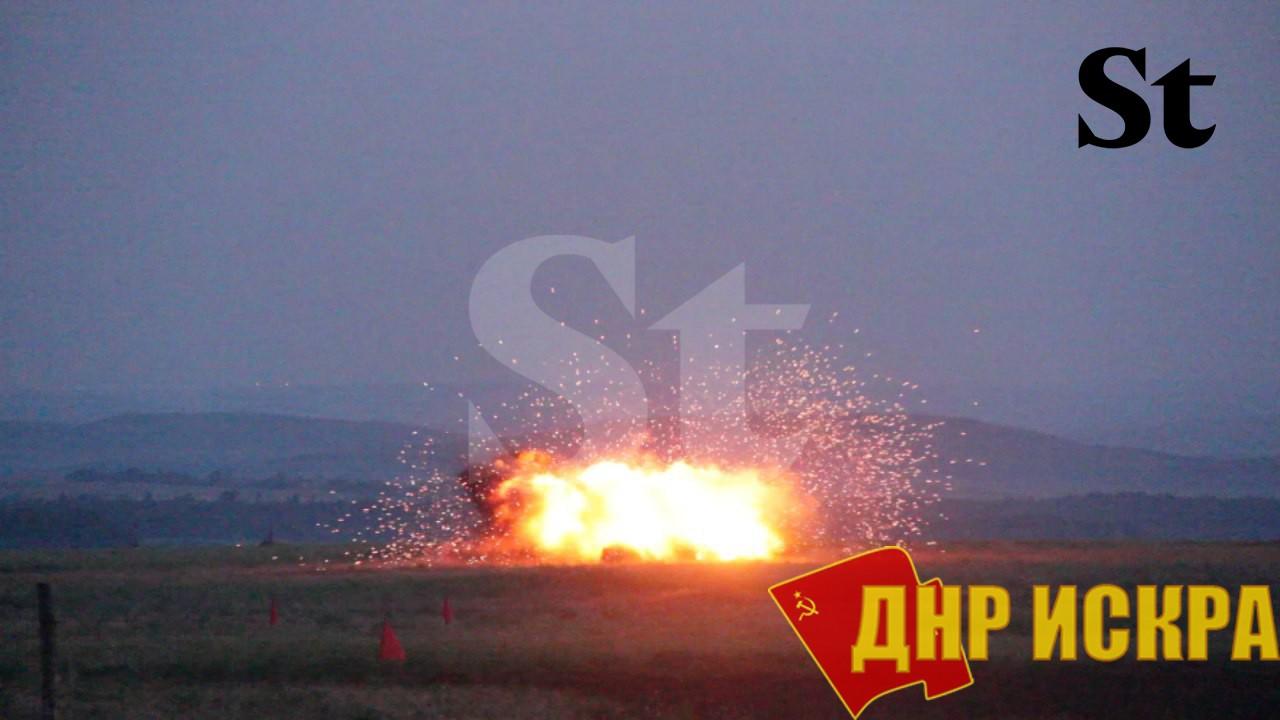 В ДНР испытали новый тип боеприпаса