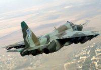 Штурмовик Су-25 ВВС Украины.