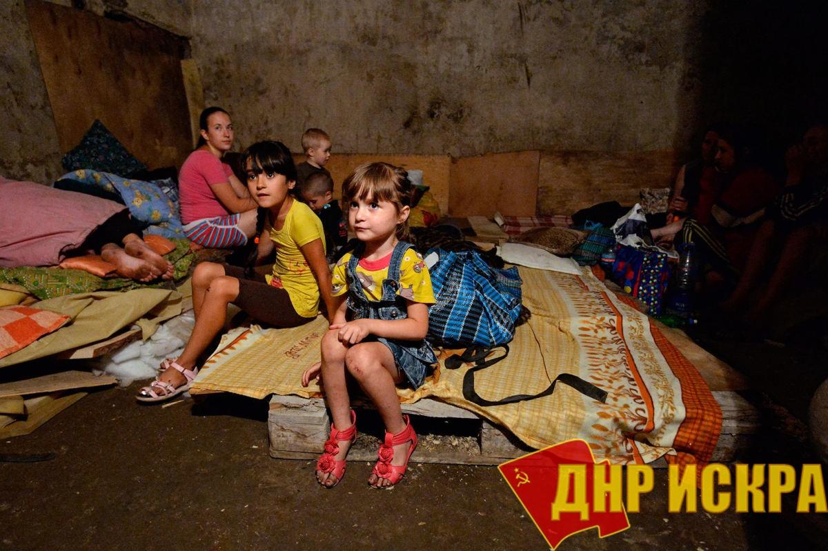 Дети в подвалах.