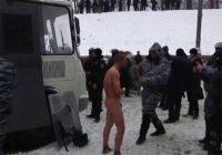 """""""Козак"""" Гаврилюк на Майдане."""