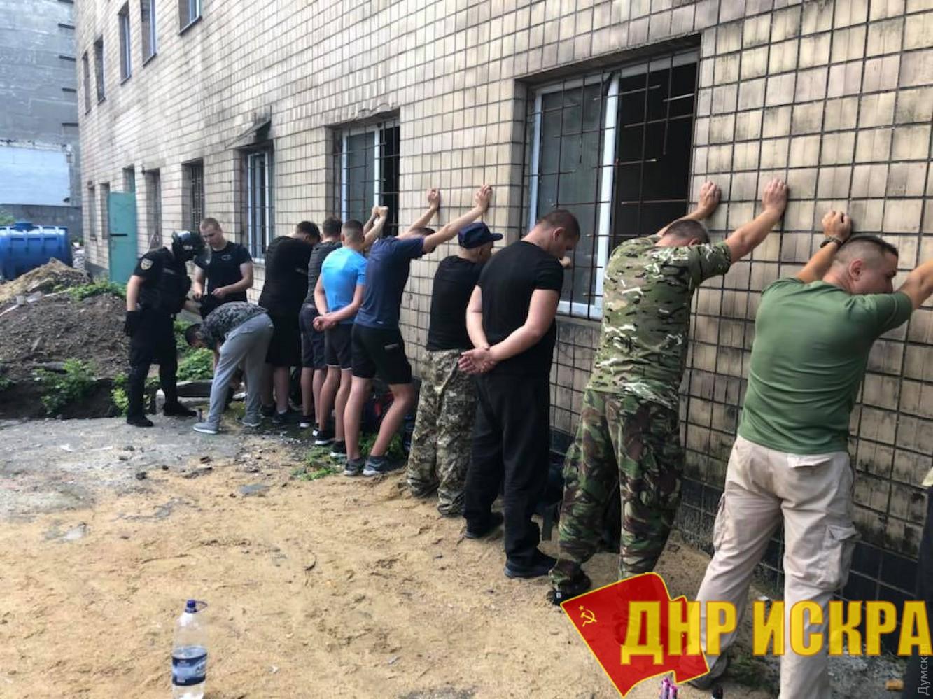 Задержанные Одесские бандиты