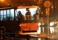 трамвай уехал