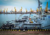 В порт Одессы зашли корабли НАТО