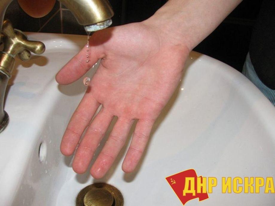 Киев  прекратил подачу воды в ЛНР