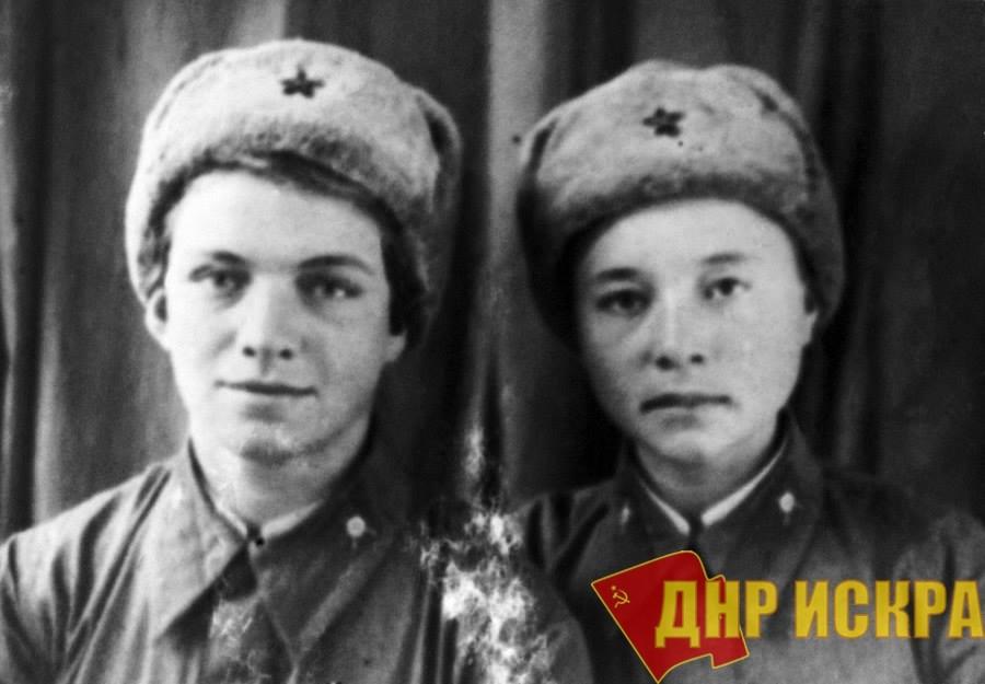 ГЕРОИ СТАЛИНСКОЙ ЭПОХИ Наташа Ковшова и Маша Поливанова