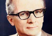 25 августа 1912 года, родился Эрих Хонеккер - деятель германского и международного рабочего и коммунистического движения