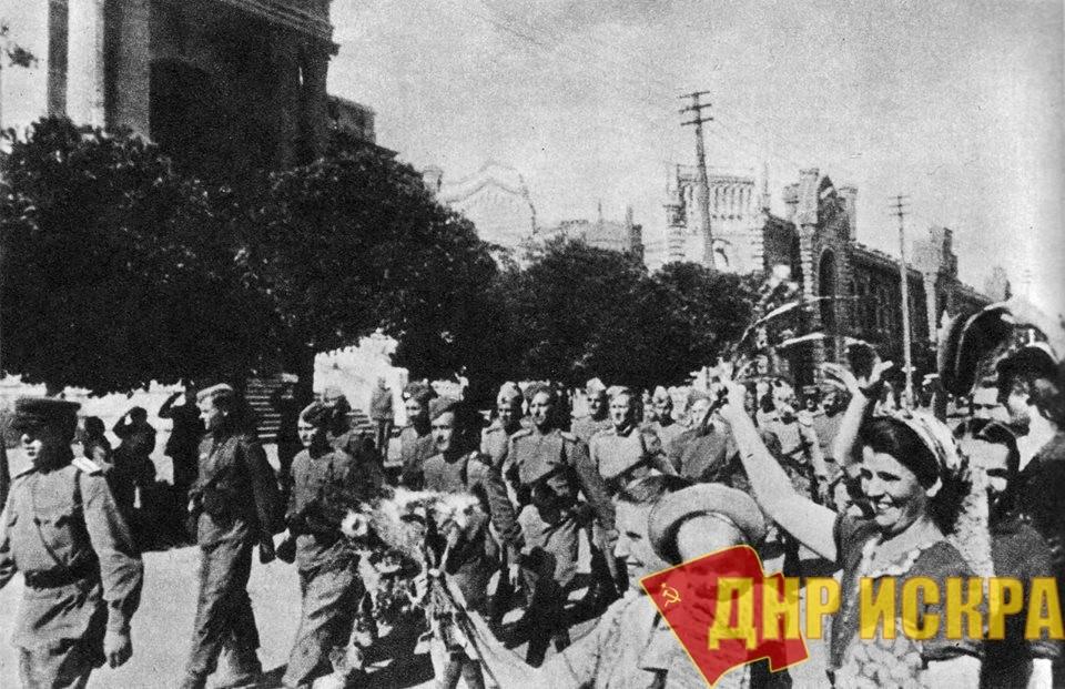 74 года назад, 24 августа 1944 года, советские войска освободили столицу Молдавской ССР город Кишинёв