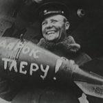 27, 30 августа, 10 сентября 1942 года соединения Авиации дальнего действия нанесли удары по Берлину.