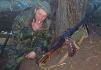 Евгений Тютин — позывной «Байконур». За участие в антимайдане в Харькове повесили отца. Евгений ушел воевать на Донбасс в ополчение.