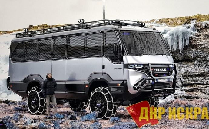 Украинская компания Pulsar Expo создала первый в мире автобус-внедорожник
