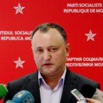 Президент Молдавии Игорь Додон заявил , что ни он, ни Партия социалистов больше не станут мириться со своим отстранением от рычагов власти.