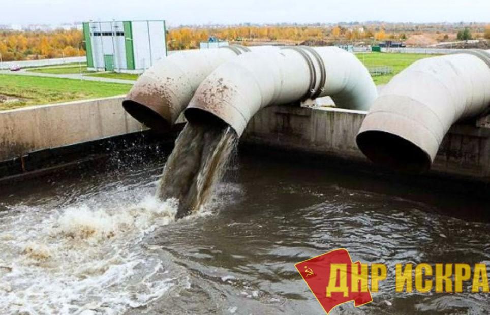 В результате огня ВСУ обесточены Гольмовские очистные сооружения