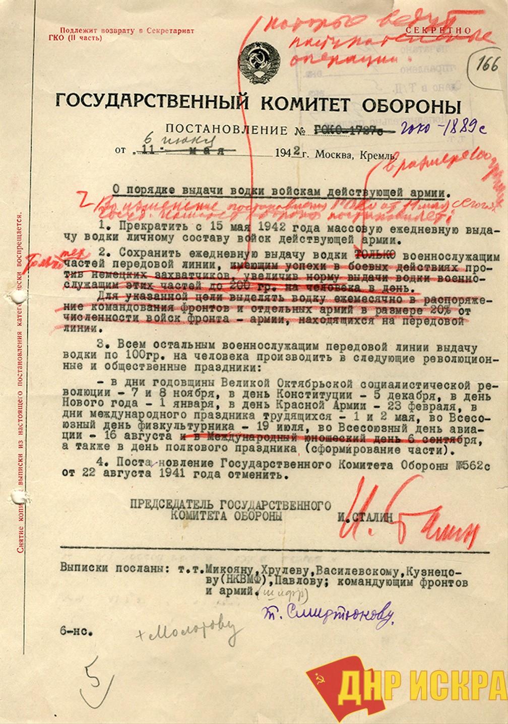 постановление ГКО № 1889с