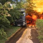 На трассе Днепр-Кобеляки произошла масштабная техногенная авария