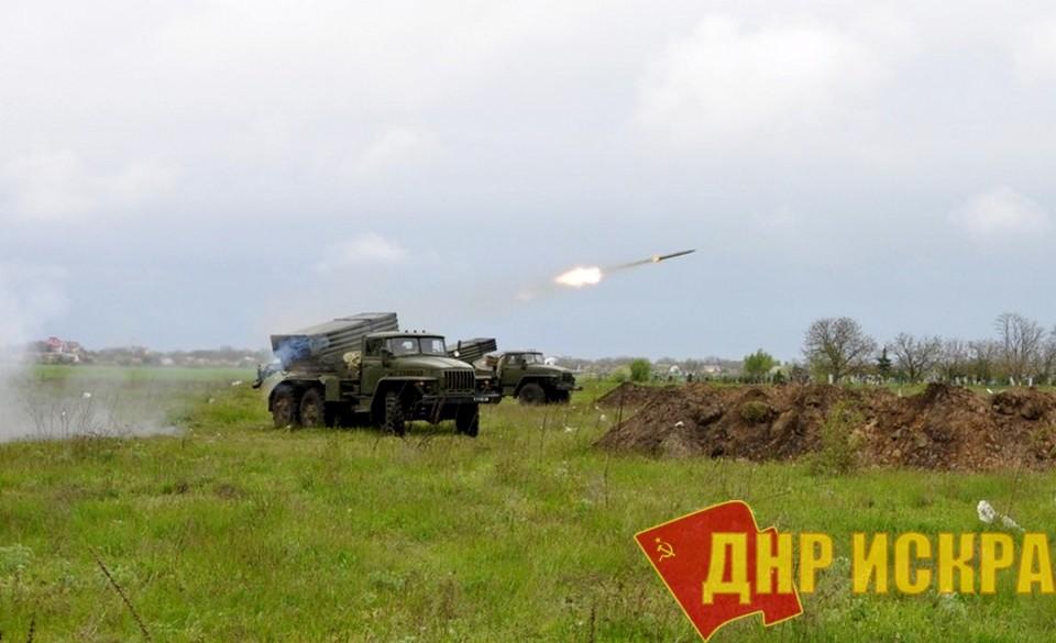 В последние дни украинские каратели откровенно нарушили перемирие