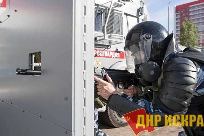 Российская «гвардия» готова во всеоружии встретить своего главного врага — российский народ