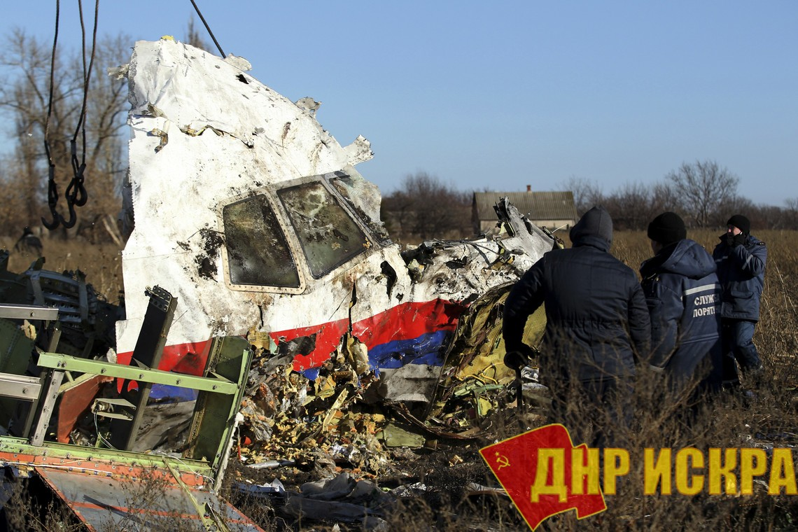 Генпрокуратура России: Нидерланды получили материалы по крушению MH17