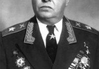 2 сентября, родился выдающийся советский военачальник, Герой Советского Союза, Главный маршал артиллерии СЕРГЕЙ СЕРГЕЕВИЧ ВАРЕНЦОВ (1901-1971)
