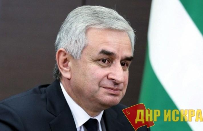 Президент Абхазии выразил соболезнования в связи с убийством Главы ДНР Александром Захарченко