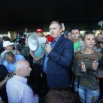 Жители Приморья протестуют против грязных выборов