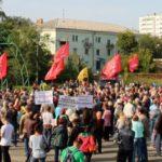 Масштабный митинг в Челябинске: «Долой реформу пенсионного геноцида!»