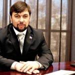 Пушилин сделал первое заявление в должности ВРИО Главы ДНР