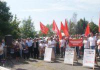 2 сентября в Черкесске около 500 человек собрались на второй митинг протеста, организованный КПРФ против повышения пенсионного возраста. В митинге приняли участие представители большинства районов многонациональной Карачаево-Черкесии