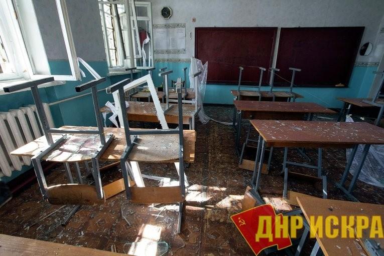 Подробности обстрела школы в прифронтовом Золотое-5 рассказала директор учреждения