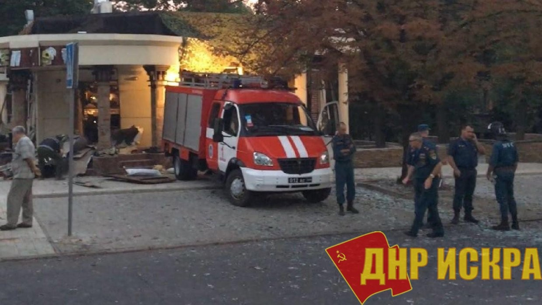 Минздрав ДНР назвал точное количество погибших и раненных при взрыве в кафе «Сепар» в Донецке