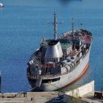 Украинские военные корабли возле Крымского моста просят у России разрешения на проход