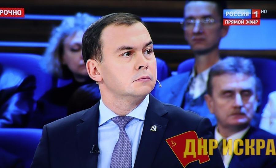 Юрий Афонин в эфире «России-1»: «Реальные доходы населения падают, а пропаганда пытается убедить нас в обратном»