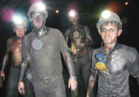 Подземная забастовка в Лисичанске продолжается