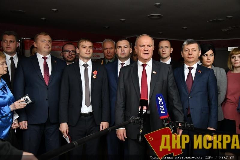 Г.А. Зюганов: Наша молодежная политика даст колоссальный результат!