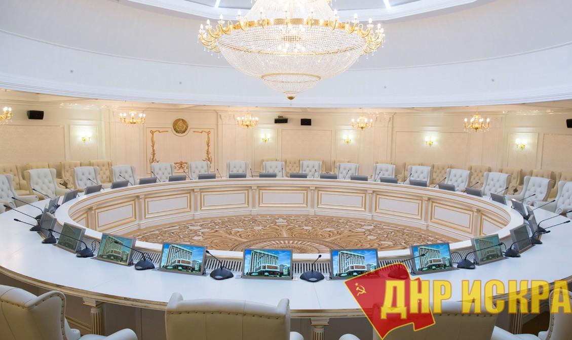Официальные представители Украины в подгруппе по гуманитарным вопросам не явились сегодня на заседание в Минске