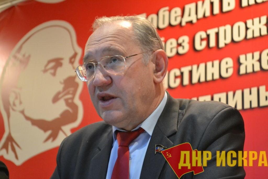 Мы будем бороться до конца за социалистическую республику — Борис Литвинов