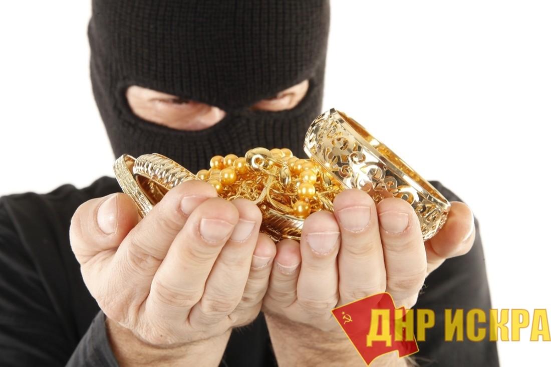 В Донецком универмаге украли около 10ти килограммов золота (Видео)