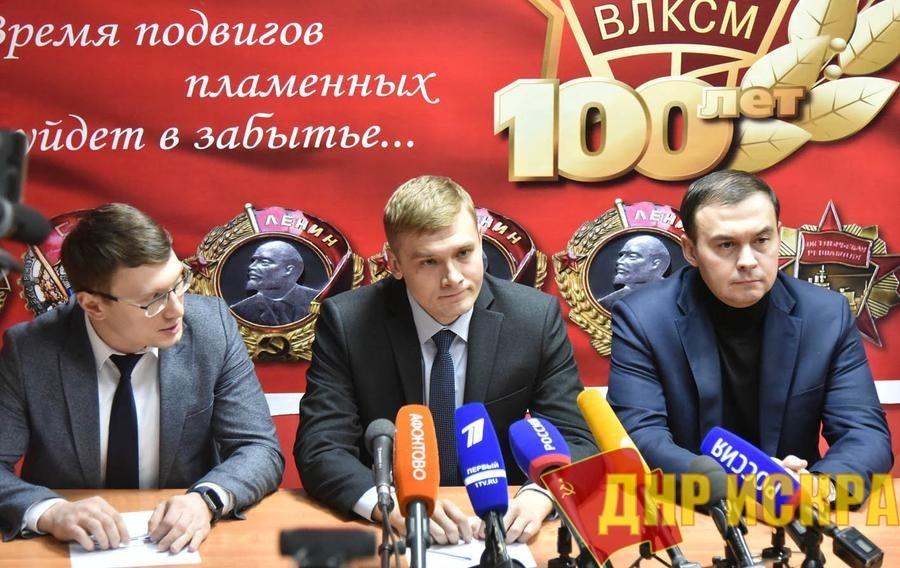 Юрий Афонин и Валентин Коновалов провели в Абакане пресс-конференцию по предварительным итогам голосования на выборах главы Хакасии