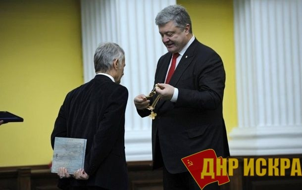 Порошенко наградил Джемилева за «возврат Крыма»