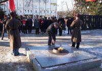 Омские коммунисты празднуют День разгрома колчаковцев