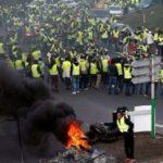 Во Франции проходят массовые акции протеста