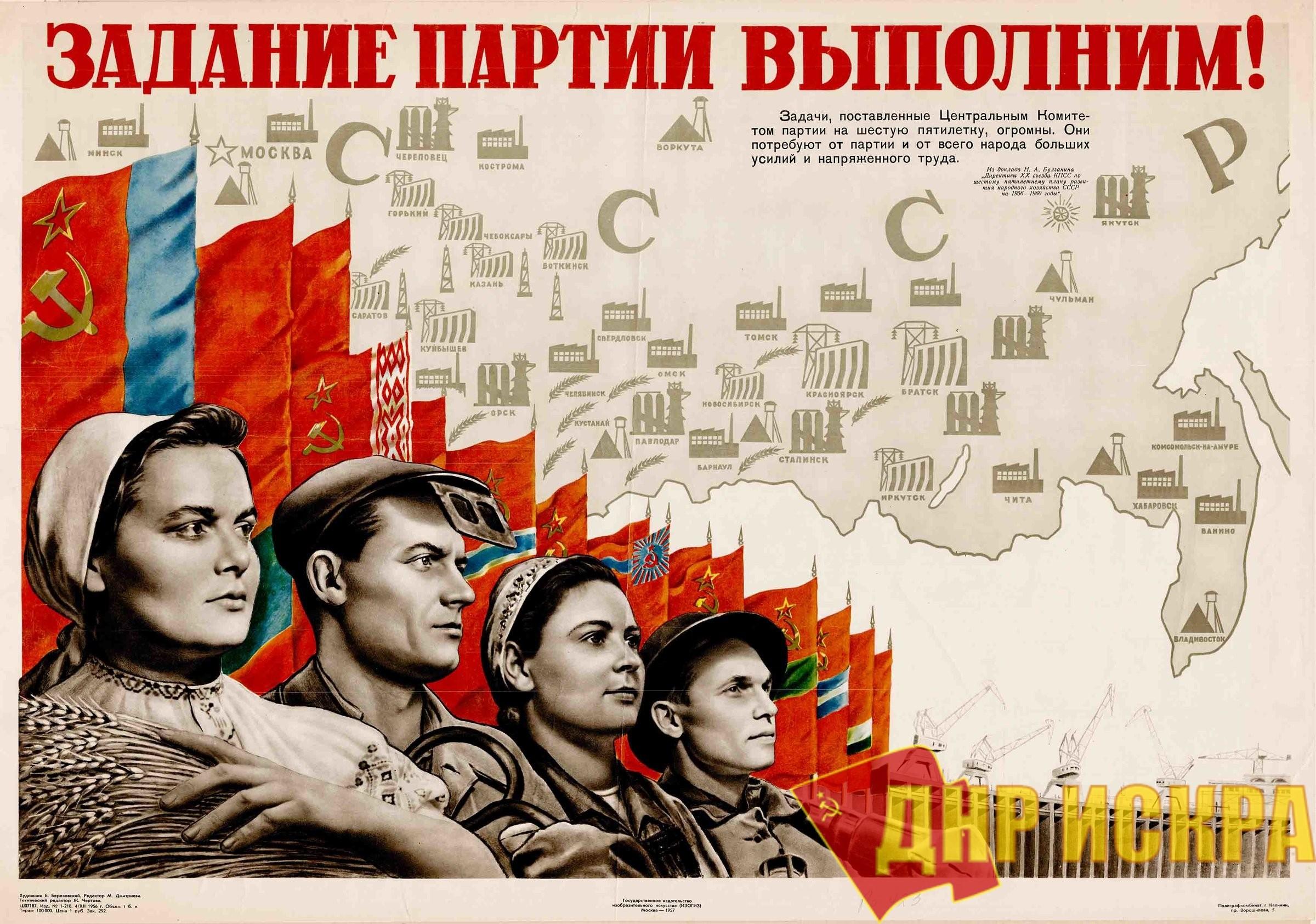 Вопросы советского планирования экономики