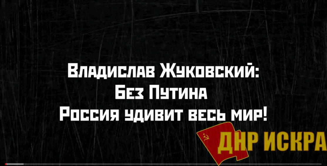 Владислав Жуковский, Сергей Удальцов: Россия без Путина удивит весь мир!